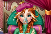 game Anna Frozen Flu Doctor