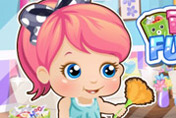 game Baby Alice Fun Cleaning