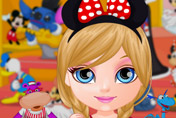 game Baby Barbie Goes To Disneyland