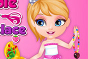 game Baby Barbie Hobbies Beads Necklace