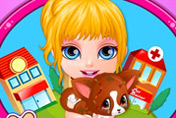 game Baby Barbie Injured Pet