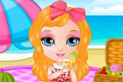 game Baby Barbie Picnic Day
