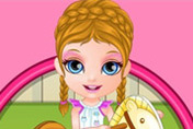game Baby Barbie Playtime Accident