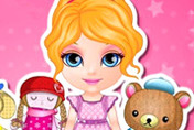 game Baby Barbie Stuffed Friends