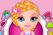 game Baby Barbie Summer Braids