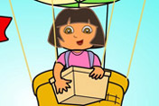 game Baby Dora balloon express