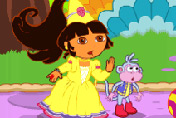 game Baby Dora Fairy Tale Saving