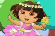 game Baby Dora Flower World