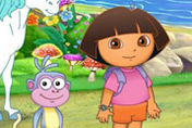 game Baby Dora The Secret Rainbow