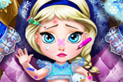 game Baby Elsa Injured