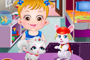 game Baby Hazel Pet Party