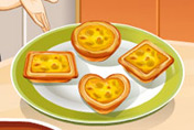 game Banana Egg Tarts: Sara's Cooking Class