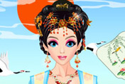 game Barbie Asian Beauty Queen Dress Up