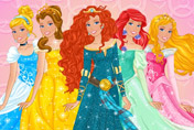 game Barbie Disney Princess Outfits