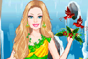 game Barbie Earth Princess Dress Up