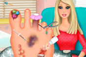 game Barbie Foot Doctor
