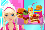 game Barbie Fun Cafe