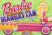 game Barbie Racing To Manhattan