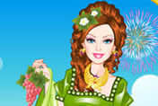 game Barbie Roman Princess Dress Up