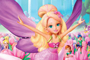 game Barbie Thumbelina Mix-up