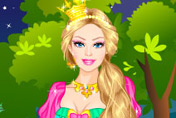 game Barbie's Castle Dress Up