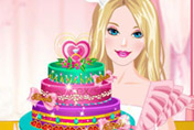 game Barbies Diamond Cake