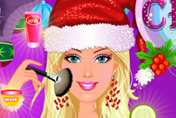 game Charming Barbie Christmas Makeover