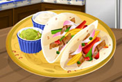 game Chicken Fajitas: Sara's Cooking Class