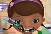 game Doc McStuffins At The Dentist