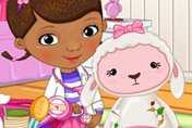 game Doc Mcstuffins Lamb Injury