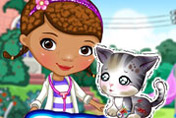 game Doc Mcstuffins: Stray Kitten Caring