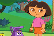 game Dora Bubble Trouble