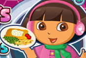 game Dora Fish And Chips