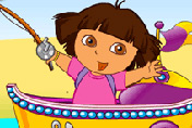 game Dora Fishing Adventure