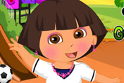 game Dora New Semester Dress Up