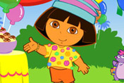 game Dora Silly Dress Up