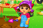 game Dora Vegetable Planting