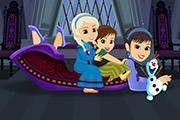 game Elsa Anna And Their Mom