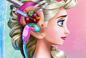 game Elsa Ear Emergency