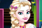 game Elsa Goes To High School