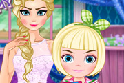 game Elsa Modern Mommy