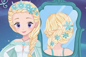 game Elsa Real Wedding Braids