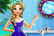 game Elsa Room Cleaning