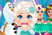 game Elsa Royal Ball Slacking