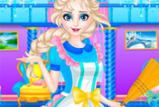 game Elsa Royal Clean Up