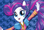 game Equestria Girls Rainbow Rocks Rarity Rockin' Hairstyle