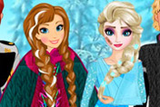 game First Aid To Anna And Elsa