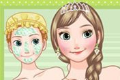 game Frozen Anna Makeover