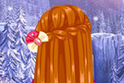 game Frozen Anna Waterfall Braids