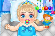 game Frozen Baby Care